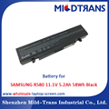 Top Rechargeable Laptop Battery Supplier for SAMSUNG R580 11.1V 5.2Ah 58Wh Black