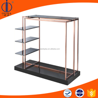 clothes showing rack/garment display shelf/high end clothing retail fixture
