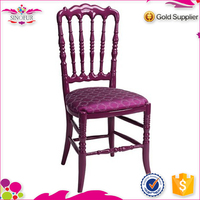Qingdao SinoFur Best Sale Noble Wood Napoleon Chair