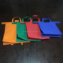 New Design Set of 4pcs Non Woven Shopping Cart Bags Wholesale