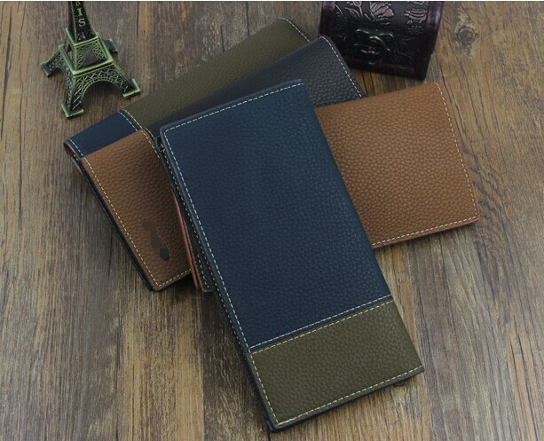 D61321T 2014 KOREAN HOT SALE JOINT COLOUR MEN'S WALLET