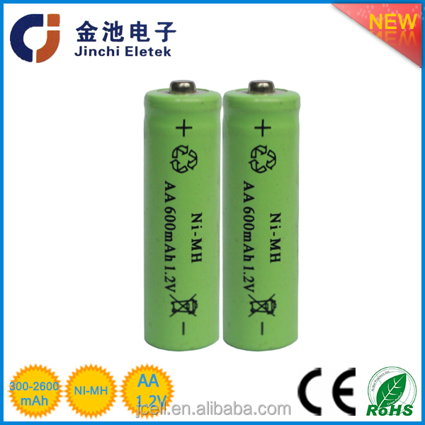 hot sale aa 1600mah nimh rechargeable battery