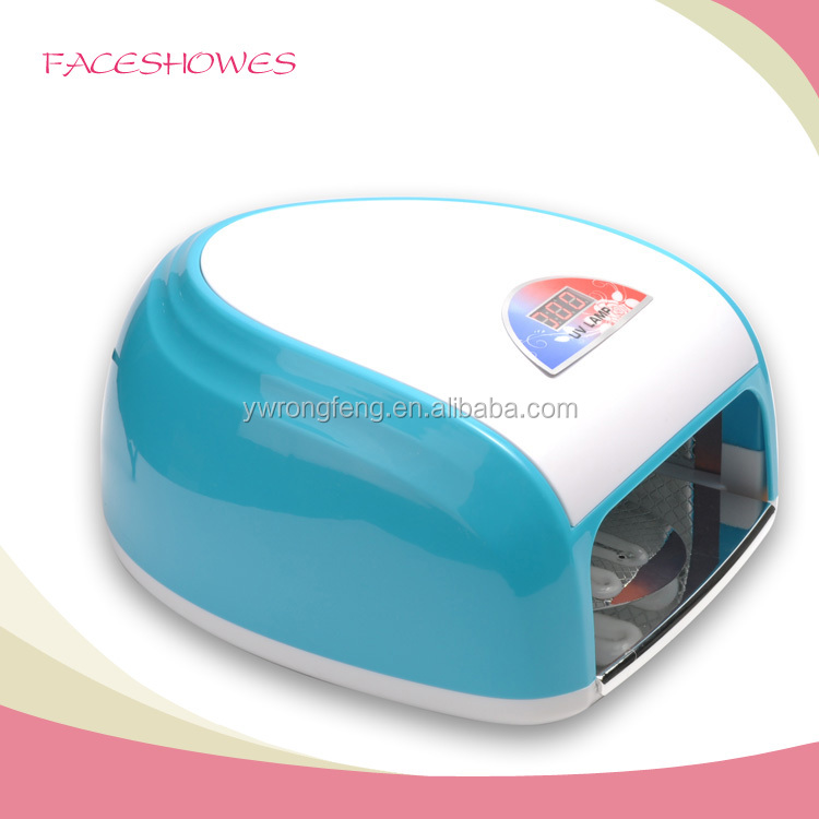 beauty salon equipment 36w uv lamp for uv led nail gel