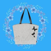 High quality felt canvas tote bag blank with custom logo