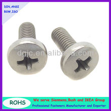 Stainless steel cheese phillips round head furniture cam self tapping screw