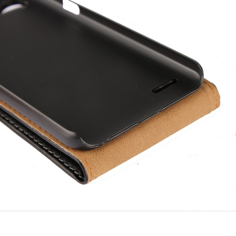 Mobile Phone Accessory Up and Down Flip Leather Phone Cover For LG Q6 Case