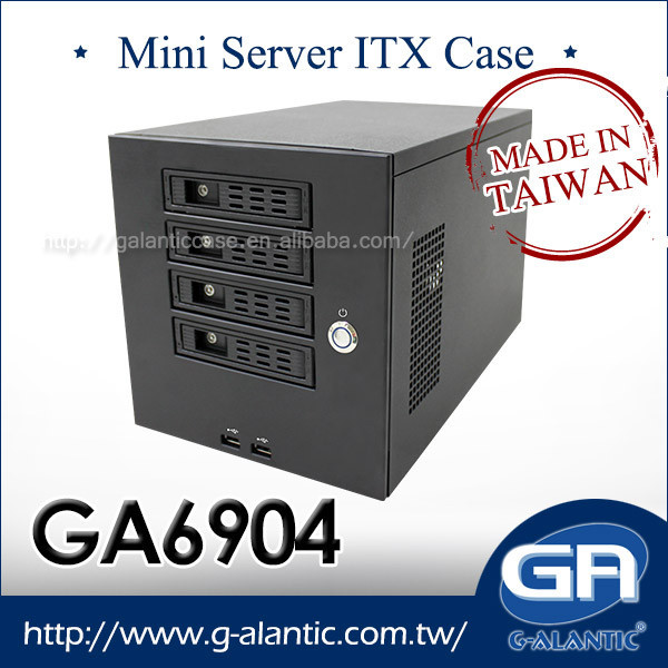 GA6904 - 4 bay mini server NAS Case pc and server computer case