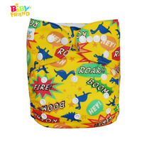 Pocket Type One Size Fit All Baby Cloth Diapers Reusable Baby Diapers