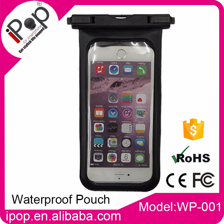 Good sesitive pass IPX8 Testing Standard phone waterproof pouch