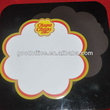 Lovely flower shape magnetic dry erase board for gifts