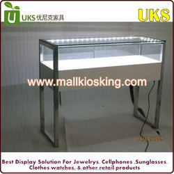 Custom make lowest acrylic jewelry display case/locking acrylic display case For Sale