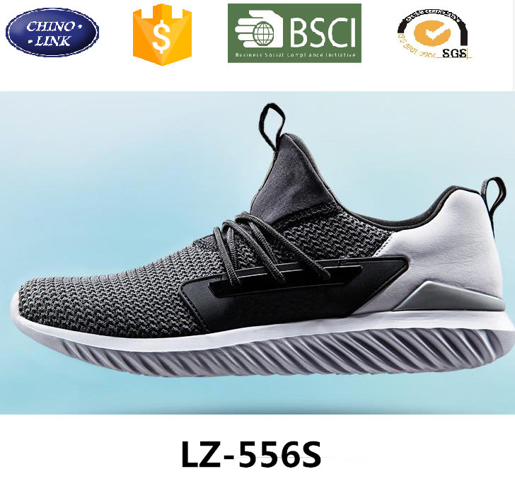 2016 New Brand Stylish knit Breathable sneaker sports shoe running shoes men sneakers casual