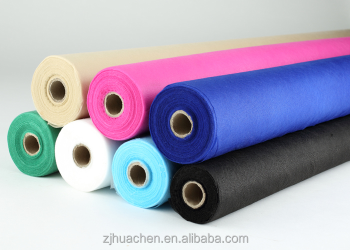 Colorful dot and cross 100% Polypropylene spunbonded nonwoven fabric