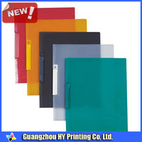 Unique personal transparent plastic file folder