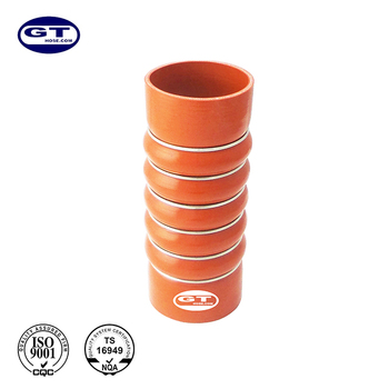 ID= 90mm(3 1/2'')/Length=229mm/Silicone Hose 5 Bellow with 6 rings