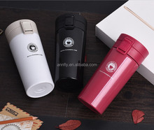 High Quality Double Wall Stainless Steel Vacuum Flasks 380ml Car Thermo Cup Coffee Tea Milk Travel Mug Thermol Bottle Thermo cup