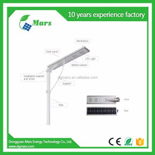 Hight Lumen LED lamp 50w 100w solar street light system
