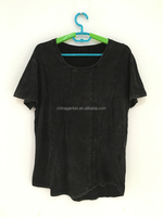 100 cotton unbranded blank t-shirts custom made