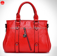 European and American fashion water-washed leather handbag handbags manufacturer in guangzhou OEM Bag Factory