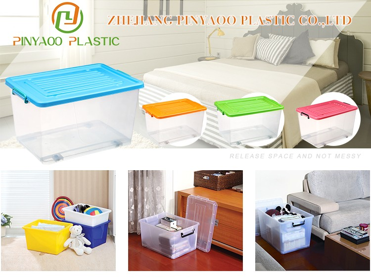 Hot selling multi purpose new design durable clear plastic storage bins