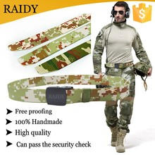 cheap style wholesale waist military men custom canvas belt