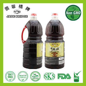 Chinese High Quality Pure And Blended Sesame Oil 1.86L