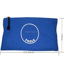 High Quality Canvas Tool Bags Durable Storage Pen Case