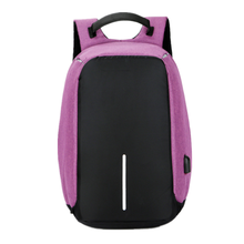 China factory manufacture hot sale waterproof durable nylon USB backpack for school business hiking