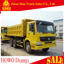 Euro 3 Emission Standard and 31 - 40t Capacity (Load) china howo tipper trucks for sale