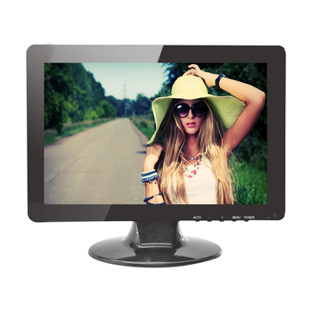 Wide Screen 12 inch Led Screen Monitor with High Brightness