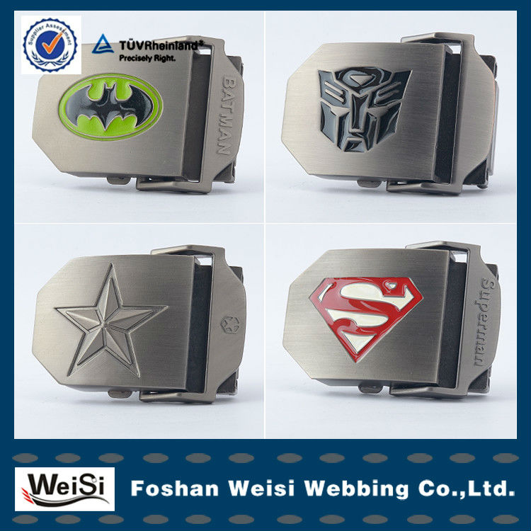 Custom Manufacturer Steel Alloy Slide Belt Buckle In Stock