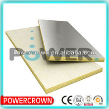 fiberglass wool insulation construction felt /glass wool cold room insulated panel