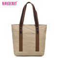 China Alibaba wholesale classical canvas leisure genuine women's leather tote bag casual young women handbags