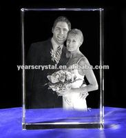 new arrival crystal wedding gift for portrait(R-0049)