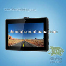 "Hot sale 5"" Touch Control System with G-sensor and GPS /wifi vatop camera"