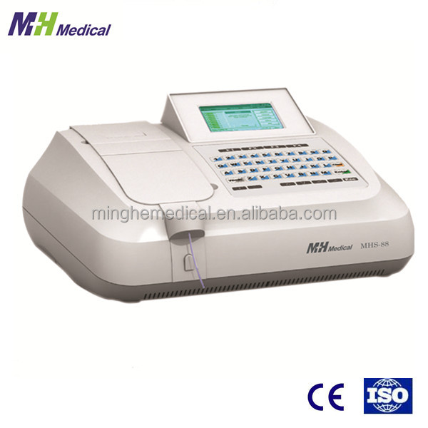 medical laboratory apparatus MHS-88 semi automated clinical chemistry instrument