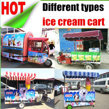 mobile crepe cheap popsicle fried ice cream kiosk, ice cream vending machine, Soft Ice Cream Carts for sale