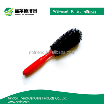 Hot sale ABS handle car wheel cleaning brush
