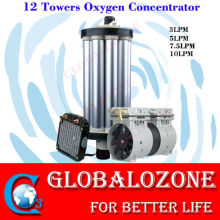 High 93% purity PSA 12 towers oxygen concentrator for assembly parts