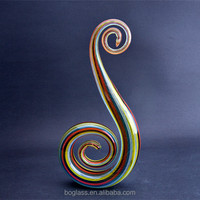 Mouth Blown Colorful Wireglass Decoration Centerpiece