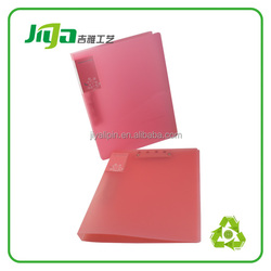 2 pocket pp file folders portfolio,3prongs plastic folder