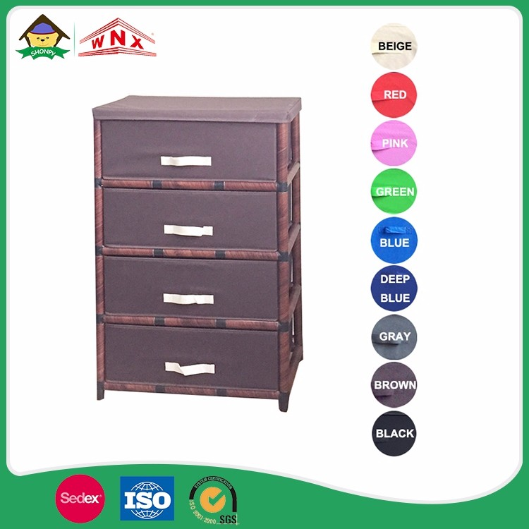 Home Decor Small Entry Storage Storage Non-woven Chest Furniture