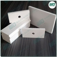 Refractory plate/the Item is Al2o3 Ceramic Parts