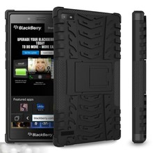 Hot New Products, Hybrid Cell Phone Case, Rugged Case With Stand For Blackberry Z3