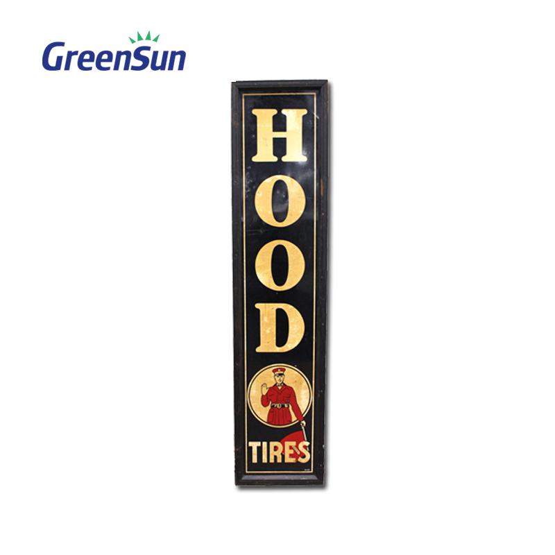 Super quality high grade embossed novelty metal sign