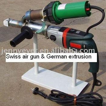 Swiss Lesiter Hot Air German Metabo Drive Hand Extruder