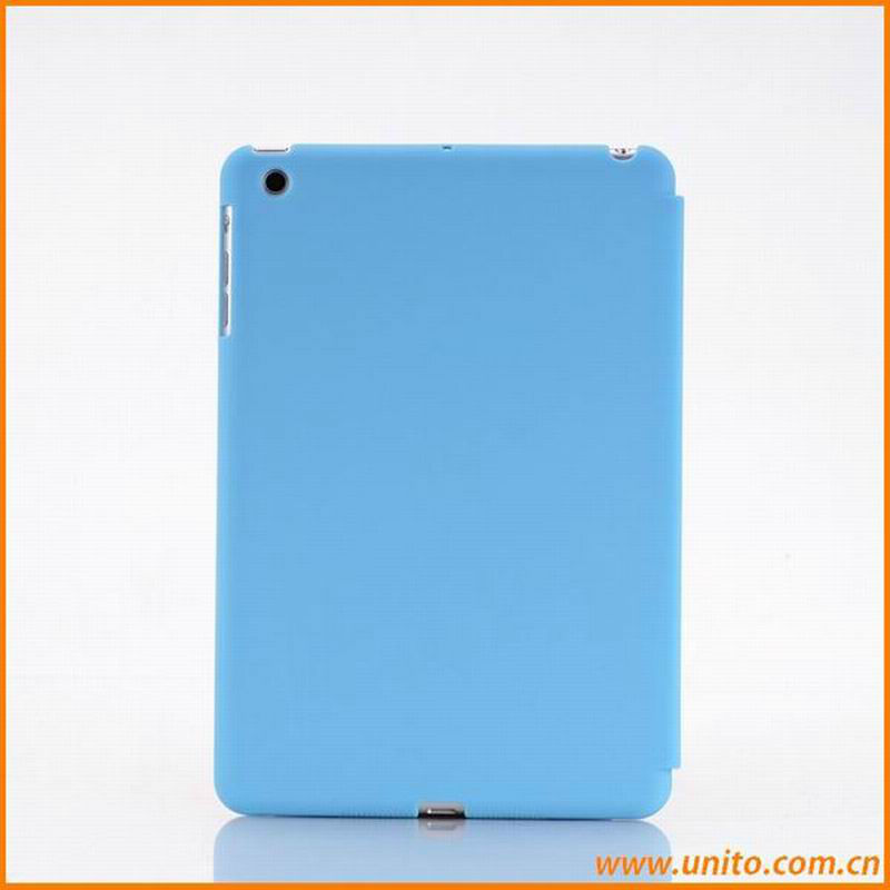 Smart Cover Compatible Companion PC Back Cover Plastic Case For iPad Mini