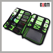 BUBM multi-function waterproof Organizer Bag case for Digital Devices USB Data Cable Earphone Wire Pen flash drive camera lens