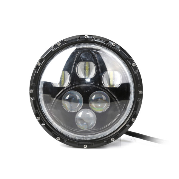 "Jeep Wrangler JK ,truck and motorcycle 7""60W cree led driving light with angel eye and halo ring"