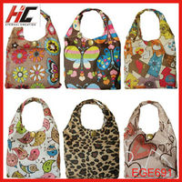 wholesale eco friendly shopping bags waterproof folding colorful printing polyster bags
